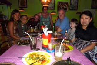 Bali was a family occasion for us too, with Maureen's grandma to visit and Maureen's birthday on the 17th