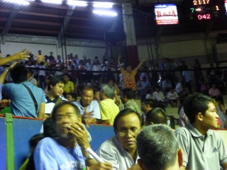 No-one gets over-excited at a Muay Thai match