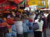We enjoyed roaming around busy produce markets with bright red tomatoes and lots of potatoes