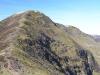 Looking ahead on the Grasmoor climb
