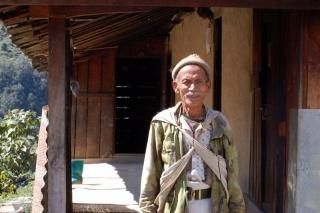 An old gurung gentleman, an ex-ghurka no less