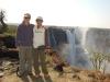 Us at Victoria Falls