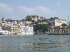 Udaipur City Palace, from the lake