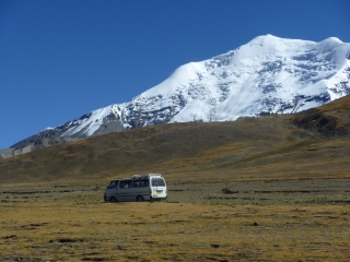 Hard to believe this clunky minivan that wouldn't start in the morning actually got us to Lhasa