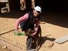 Feeding an Nguni calf