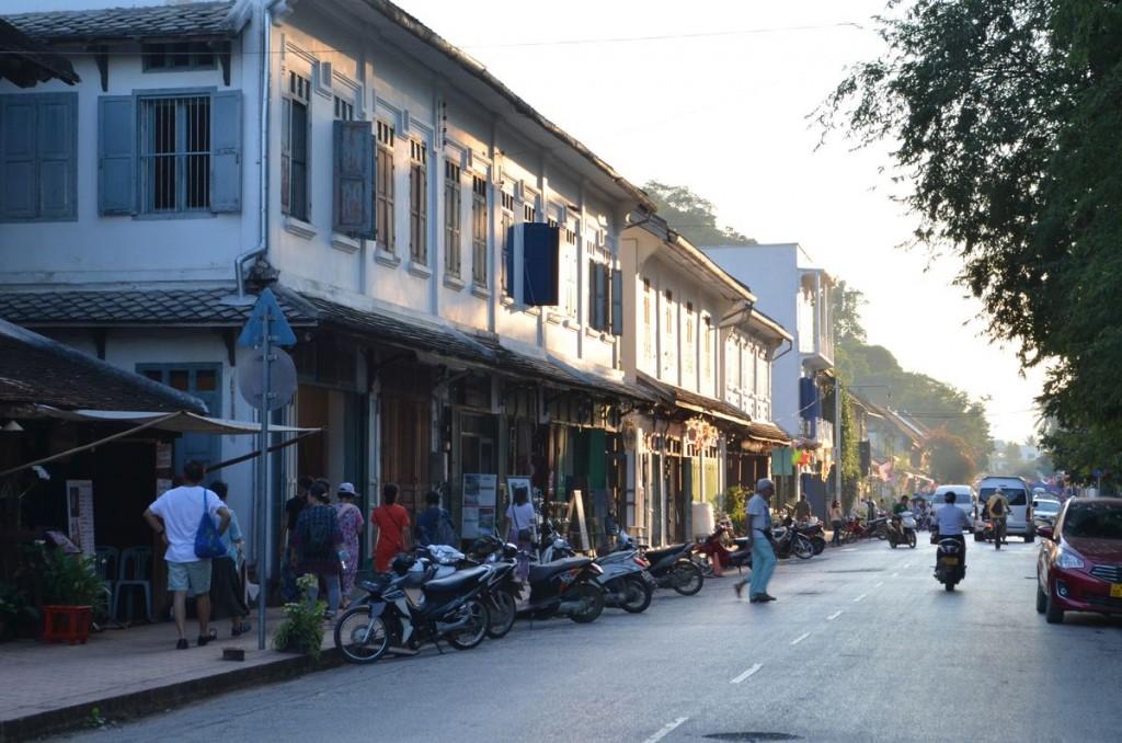 Luang Prabang's main street